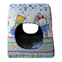 Pet bed Circle House Hole 3 function (CubnKit)