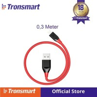Tronsmart 19AWG Double Braided Lightning Cable 0.3M(1ft) [LTA22] R