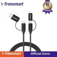 Tronsmart C4N1 4-in-1 Type-C Cable Built-in Micro USB 1M [C4N1]