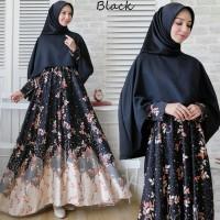 Gamis Wanita - MAXI DRESS CAPE AYUKA (REAL PIC) Gamis Maxi