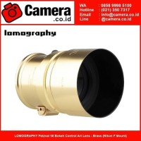 PROMOH LOMOGRAPHY Petzval 58 Bokeh Control Art Lens - Brass (Nikon F