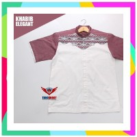 RDS Baju Koko Pria Branded Model Terbaru Style Khabib Real Pict