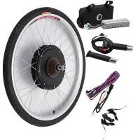 Harga cool bikight 48v 500w 26inch sepeda listrik modifikasi kit | Pembandingharga.com