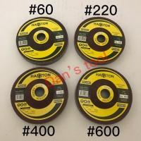 Batu Sponge Grit 600 / Sponge Polishing Wheel / Gurinda Poles Sponge