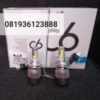 Lampu Mobil LED H4 C6 Original