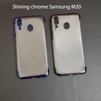 Samsung M20 SHINING CHROME TPU CASE CLEAR Silicone Case