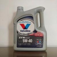 Valvoline Syn Power 5W-40 asli