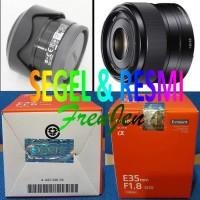 SONY SEL 35MM F1.8 OSS LENSA 35 MM SEGEL RESMI A6000 A6300 A6500
