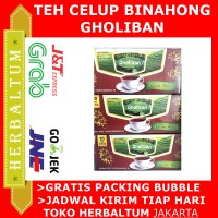 Teh Celup Binahong Gholiban - isi 20 - Herbal Daun Binahong