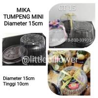 Mika Tumpeng Mini/ Mika Bolu Bulat/ Tumini Coklat D15