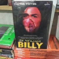 buku novel 24 Wajah Billy - Daniel Keyes