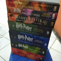 HARD COVER Paket Novel Harry Potter Jilid 1-7 lengkap 2 3 4 5 6