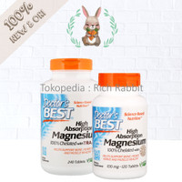 Doctor's Best High Absorption Magnesium 100% Chelated Albion Minerals
