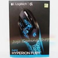 LOGITECH G402 Hyperion Fury Gaming Mouse - GARANSI RESMI TUKER BARU