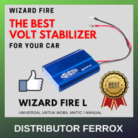 TERLARIS! WIZARD FIRE L BATTERY STABILIZER UNTUK MOBIL MANUAL / MATIC