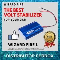 TERLARIS! WIZARD FIRE L VOLTAGE STABILIZER UNTUK MOBIL MANUAL / MATIC