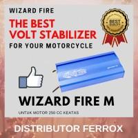 BEST SELLER! WIZARD FIRE M VOLT STABILIZER UNTUK MOTOR 250 CC KEATAS