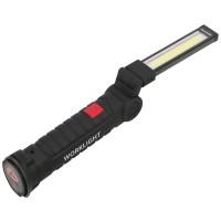 AJLZ WORKLIGHT Senter COB LED Magnetic 2000 Lumens - Black