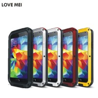 LOVE MEI Life Water resistant Metal Case for SAMSUNG Galaxy S4 S5 S6