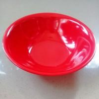 "Mangkok Baso 7"" Merah Melamine - Golden Dragon W0107"