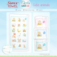 Sorex - Handuk Anak 120 x 60cm Cute Animal