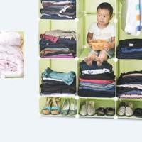 Harga best seller lemari baju furniture rak portable anti air murah | Pembandingharga.com