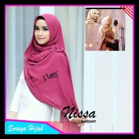 Jilbab Instan Hijab Pastan Pashmina Nissa Hana Najwa Murah Khimar Baru