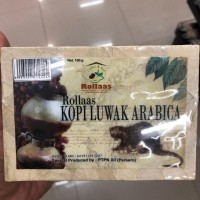 kopi luwak arabica Rollaas