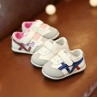 Sepatu Prewalker Bayi Laki-laki / Perempuan Lucu dengan Dasar Lembut