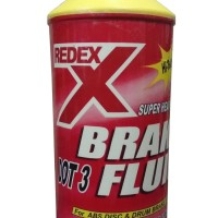 Redex DOT 3 Brake Fluid - Minyak Rem Merah Netral 1 Liter Original pa