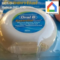 Oral B essential dental floss Normal / Mint 50m