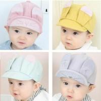 Topi Bayi Topi Anak Bunny Stripes Kuping - Bunny Stripes Hat