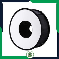 Universal Ring Softbox Flash Diffuser for Camera DSLR
