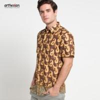 [Arthesian] Kemeja Batik Pria - Emery Batik Printing