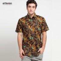 [Arthesian] Kemeja Batik Pria - Aaron Batik Printing