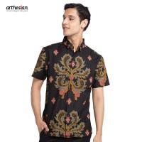 [Arthesian] Kemeja Batik Pria - Adelio Batik Printing