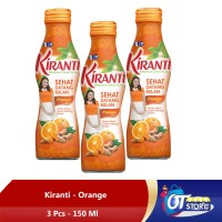 KIRANTI ORANGE JUICE [ISI 3BOTOL]