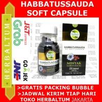 Habbatussauda Sehat Nabawi Oil Soft Capsule Minyak Jintan 200 Softgel