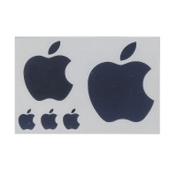 Decal Sticker Logo Apple Set of 5 pcs