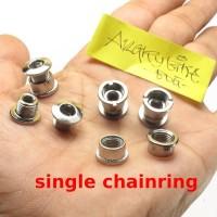 Baut Chainring - Baut Narrow Wide - Shimano - Bolt Nut untuk single
