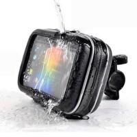 Waterproof Tas stang tempat simpan handphone HP Handlebar anti air