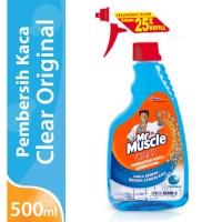 Harga mr muscle glass liquid