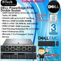 "DELL Server R740 ""Custom Spec 2"" Intel Xeon Silver 4114 RackSeries"