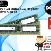 DELL Memory 8GB DDR3 ECC Register For PE Gen 12