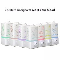 Carved Design Air Humidifier Large Ultrasonic Aroma Diffuser -1500 ML
