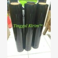 Plastik wrapping hitam Premium Quality Black Stretch Film 50 x 300 Mtr
