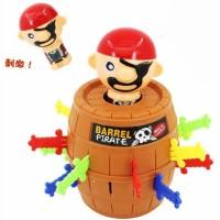 BDAE Crazy Pirates Roulette Lucky Barrel Running Man Game - YF555