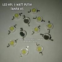 LED HPL 3 WATT TANPA HS WHITE