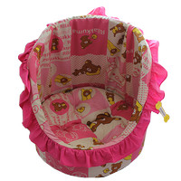 Pet bed oval full wave (CubnKit)