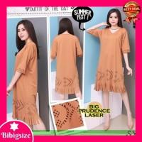 Dress dian pelangi Midi Dress Jumbo 440 - Baju Dress Wanita 440